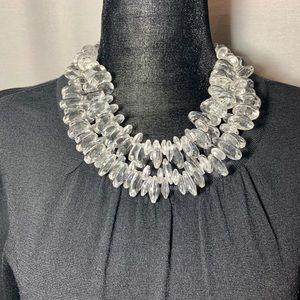 🍃3/$35 Zara lucite necklace